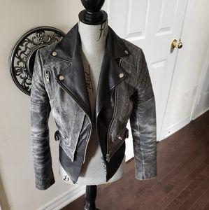 Muubaa stunning size US 6/UK 10 leather jacket